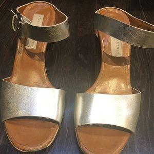 Stella McCartney Silver Sandal heel